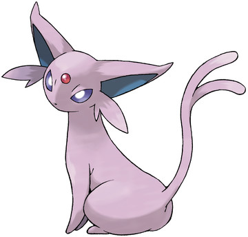 Espeon artwork by Ken Sugimori