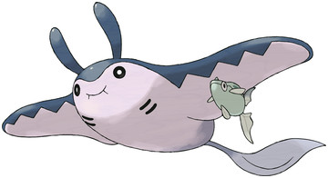 Mantine artwork by Ken Sugimori