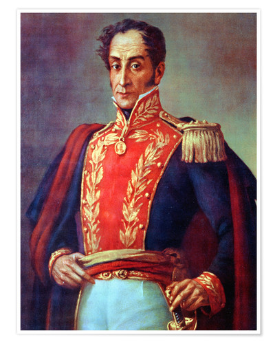 Simon Bolivar Poster Posters And Prints