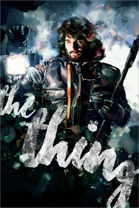 premium poster the thing