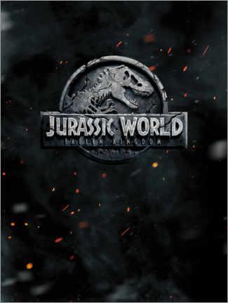 premium poster jurassic world fallen kingdom