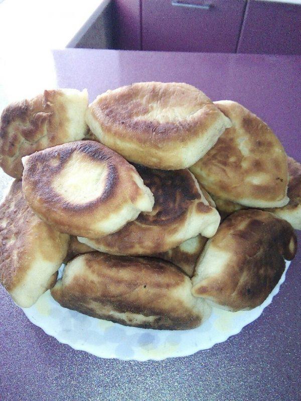 Жареные пирожки с картошкой - пошаговый рецепт с фото на ...