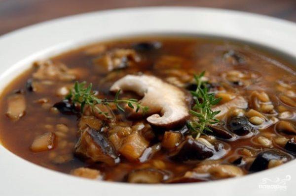 Грибной суп в мультиварке - рецепт с фото на Повар.ру