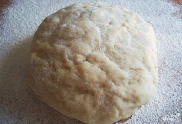 Тесто для жареных пирожков на кефире - пошаговый рецепт с ...