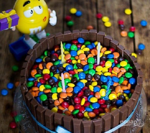 Детский торт своими руками - пошаговый рецепт с фото на ...