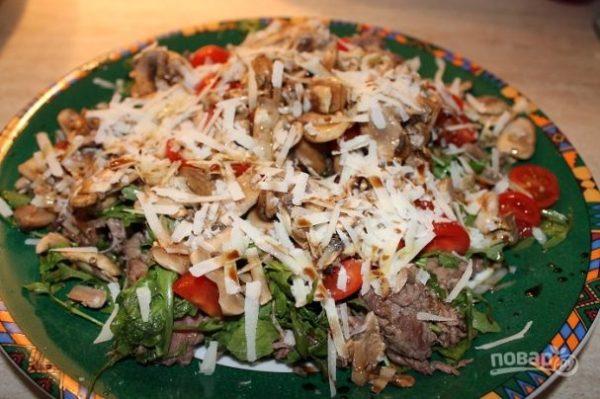 Салат мясной из говядины - пошаговый рецепт с фото на Повар.ру