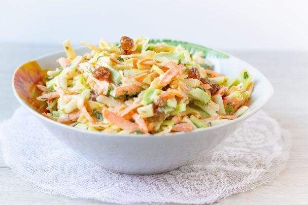 ovoshnoi salat so smetanoi 512101 - Vegetable salad with sour cream