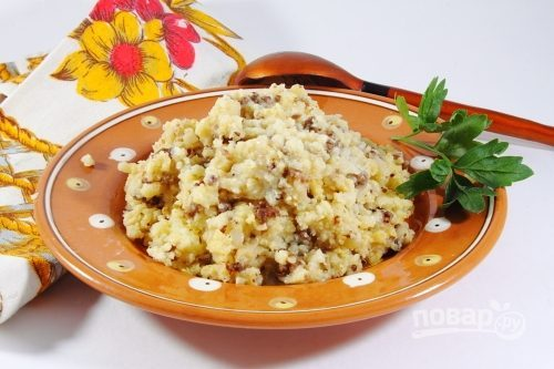 pshennaya kasha s myasom 331584 - Millet porridge with meat