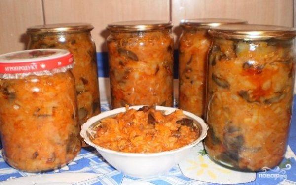 Грибная солянка с овощами на зиму - рецепт с фото на Повар.ру