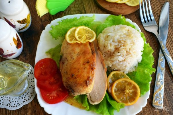 "kurinie grudki quotcitrusovaya vesnaquot 380310 - Chicken breast ""Citrus spring"""