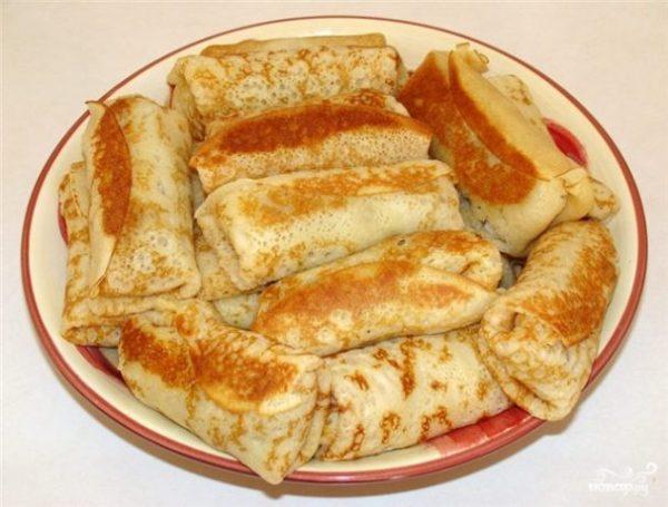 Блины с капустой пошаговый рецепт с фото на Поварру