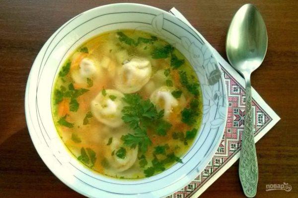 Бабушкин суп с пельменями - пошаговый рецепт с фото на ...