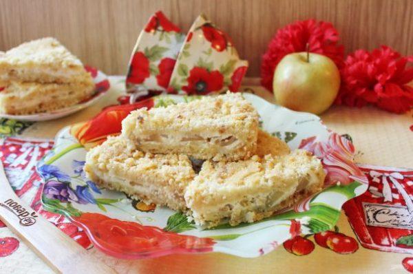 Королевская ватрушка с яблоками - пошаговый рецепт с фото ...
