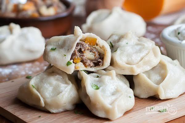 Тесто на манты - пошаговый рецепт с фото на Повар.ру