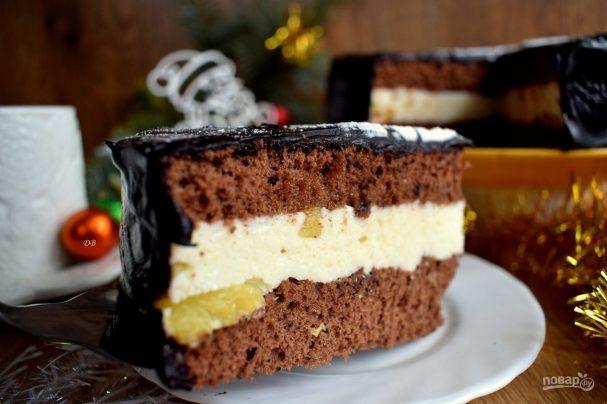 tvorojnii krem dlya biskvitnogo torta 352910 - Cheese cream sponge cake