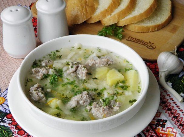 sup s frikadelkami (lenivii) 339226 - Meatball soup (lazy)