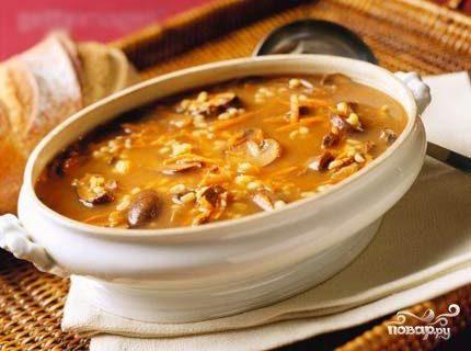 Куриный суп с опятами - рецепт с фото на Повар.ру