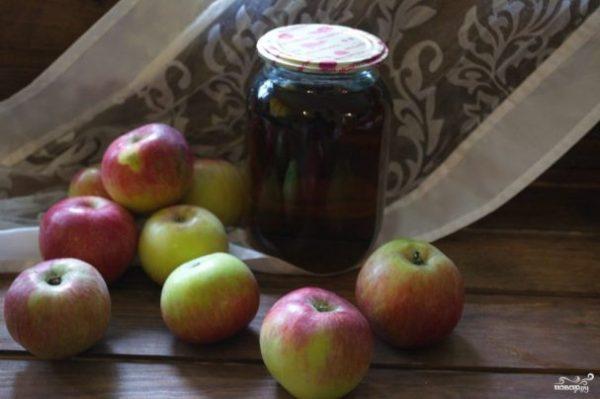 Яблочный сок на зиму через соковыжималку - пошаговый ...