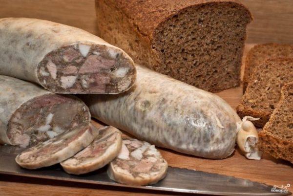 Сальтисон из свиной головы - рецепт с фото на Повар.ру