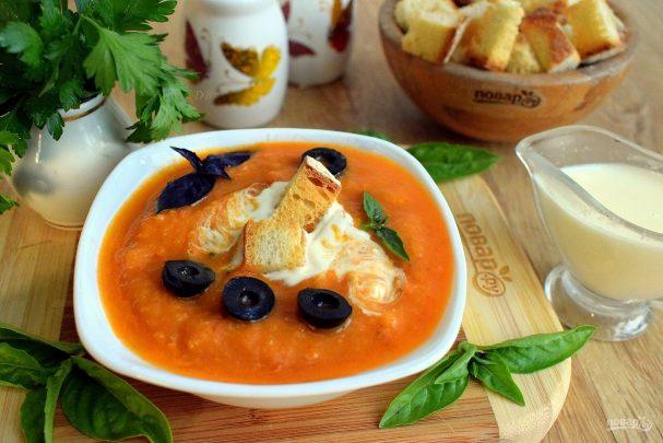 holodnii sup iz kabachkovoi ikri 420059 - Cold soup of squash caviar