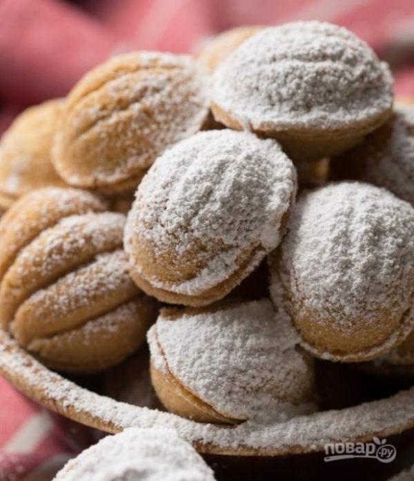 Орешки со сгущенкой - пошаговый рецепт с фото на Повар.ру
