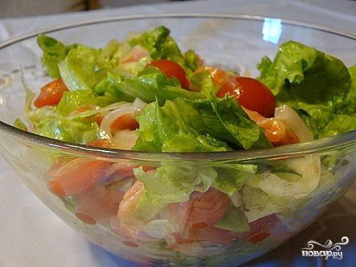 Салат из семги - рецепт с фото на Повар.ру