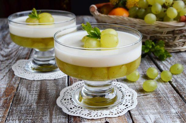 vinogradno iogurtovoe jele 459345 - Grape and yoghurt jelly