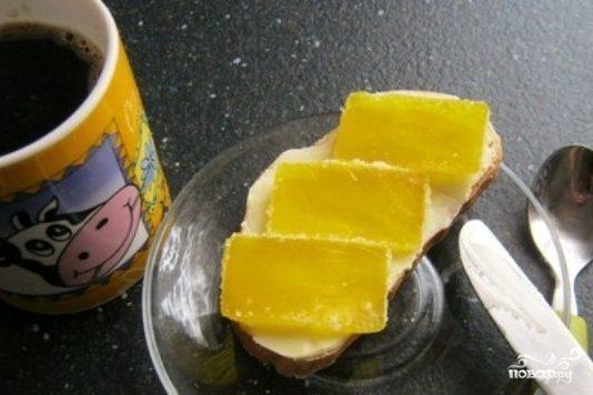 "Бутерброд с мармеладом ""Детский"" - рецепт с фото на Повар.ру"