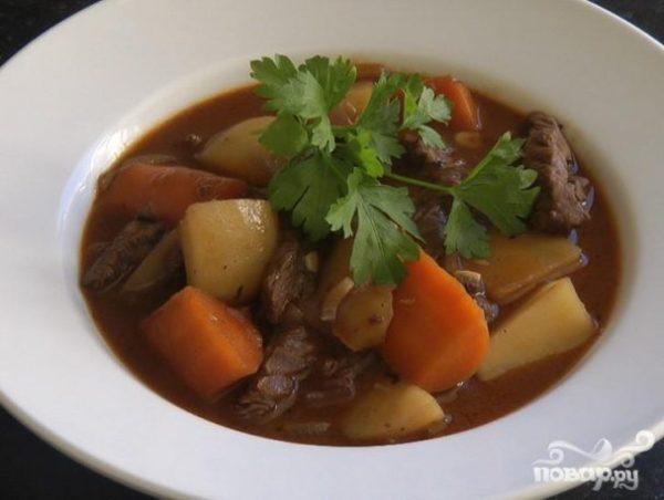 Тушеная говядина по-английски - пошаговый рецепт с фото на ...