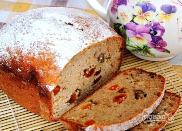 """Кекс в хлебопечке """"Мулинекс"""" - пошаговый рецепт с фото на ..."""