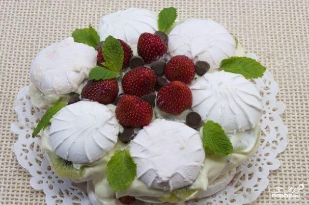 tort iz zefira bez vipechki 97439 - Торт из зефира без выпечки