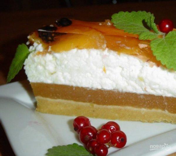 Йогуртовый торт с фруктами - пошаговый рецепт с фото на ...