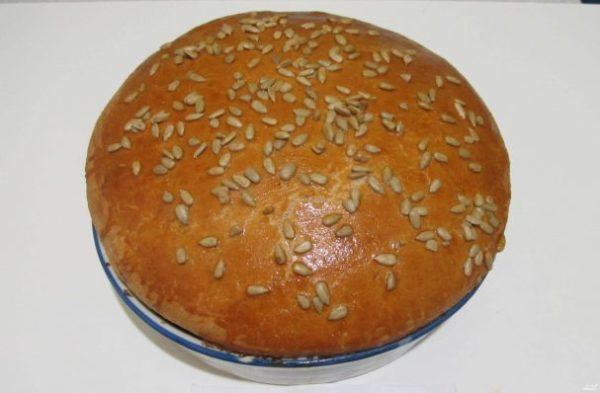 Ржаной хлеб на кефире - пошаговый рецепт с фото на Повар.ру