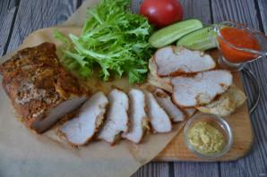 Ham thịt lợn nướng trong lò trong lá - Ảnh Bước 7