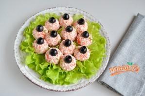 "Салат-закуска ""Ёлочные шарики"" - фото шаг 4"