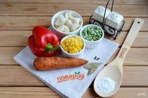 Вегетарианское заливное к Новому Году - фото шаг 1