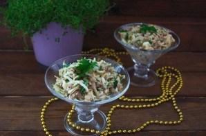 Салат с тунцом и сыром - фото шаг 5