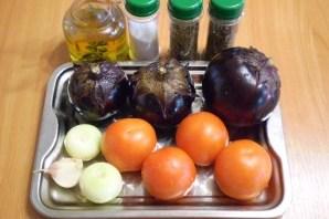Баклажаны в духовке на скорую руку - фото шаг 1