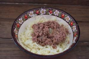 Салат с тунцом и сыром - фото шаг 2