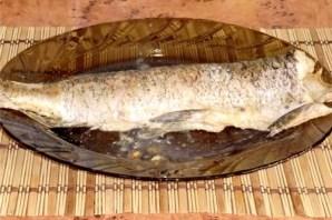 Щука со сметаной в духовке - фото шаг 7