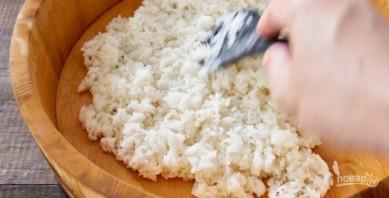 बिल्कुल सही चावल सुशी - फोटो चरण 4