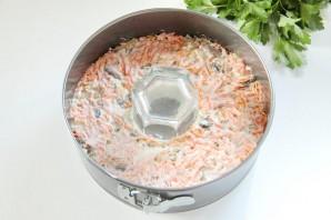Салат желейный, слоеный - фото шаг 12