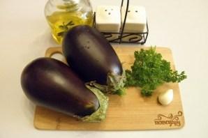 Отварные баклажаны с чесноком и зеленью - фото шаг 1