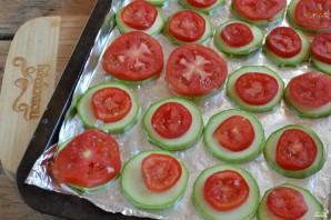 Кабачки с помидорами и сыром - фото шаг 3