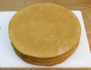 Pastel de miel con crema agria - Paso 7