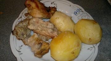 Nyúl recept a sütőben burgonyával - Fotó 7