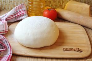 Ζύμη για ζύμη πίτσας - φωτογραφία Βήμα 4