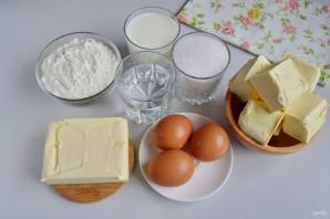 """Торт """"Наполеон"""" классический (из домашнего теста) - фото шаг 1"""
