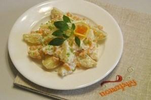 Салат с икрой - фото шаг 5