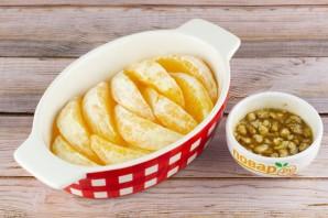 Апельсин в духовке с медом и корицей - фото шаг 2